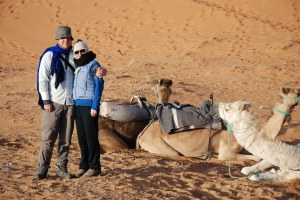 On our Honeymoon in Morocco
